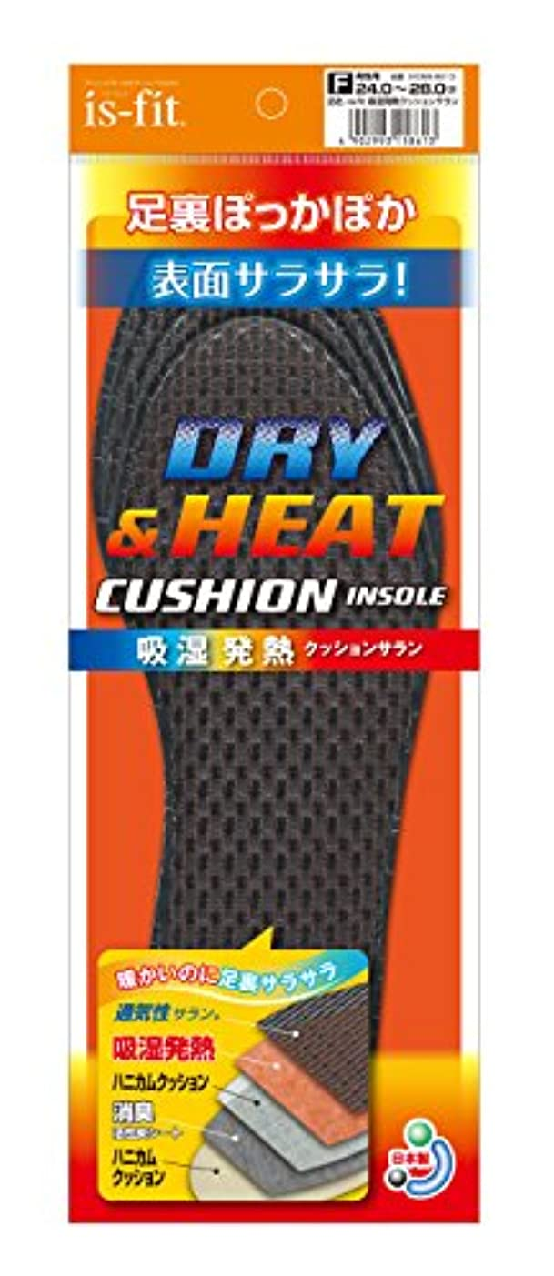 解放委託言い換えるとis-fit(イズフィット) 吸湿発熱クッションサラン 男性用 フリー(24.0cm~28.0cm)