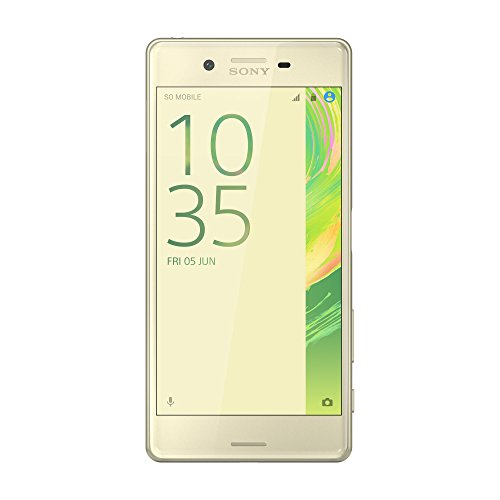 SIMフリー Sony Xperia X Dual F5122 4G LTE (Lime Gold/ライムゴールド) [並行輸入品]