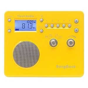 チボリオーディオ ポータブルラジオ SongBook イエロー
