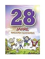 DEPESCHE 5598.040 Archie 28歳の誕生日カード - マルチカラー