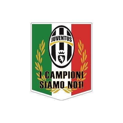 [해외]st195 유벤투스 챔피언 페넌트 형 스티커/st195 Juventus champion Pennant type sticker