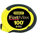 Stanley34-130FatMax Steel Tape Rule-100' STL TAPE RULE