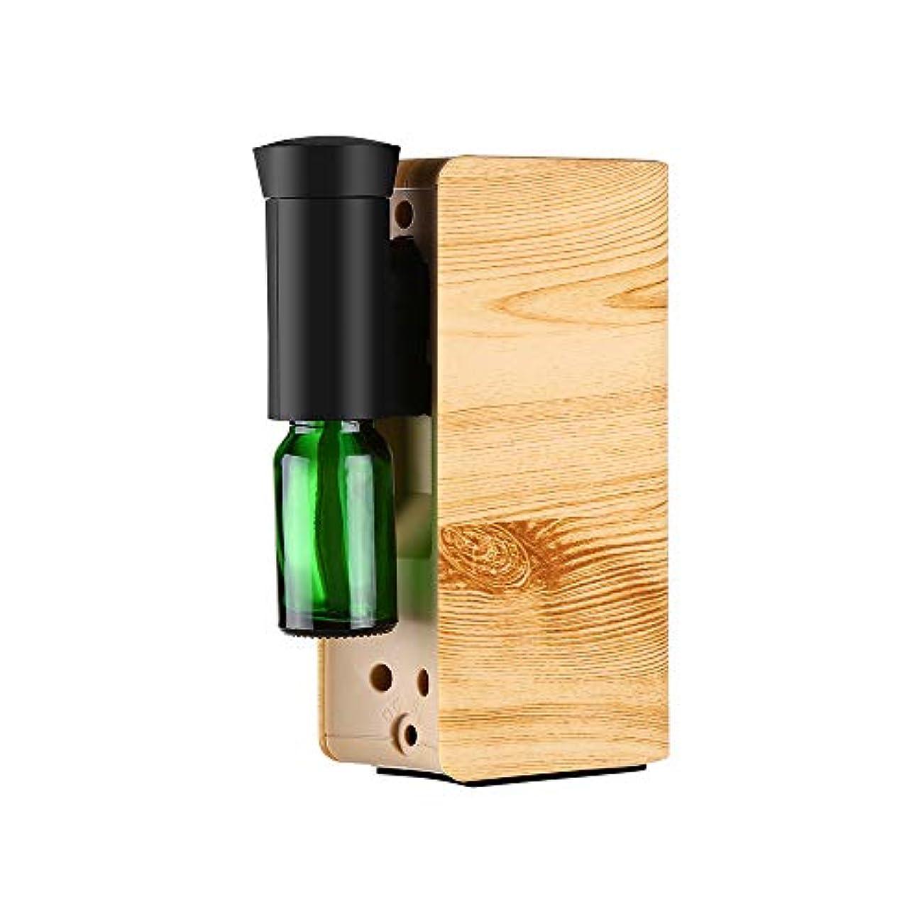 構成する演じる増幅器Elikliv アロマディフューザー オイル ネブライザー式 車 家庭で使用 USB充電式 アロマバーナー