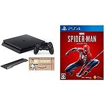 PlayStation 4 ジェット・ブラック 500GB (CUH-2200AB01) (Amazon.co.jp限定特典付) + 【PS4】Marvel's Spider-Man  セット