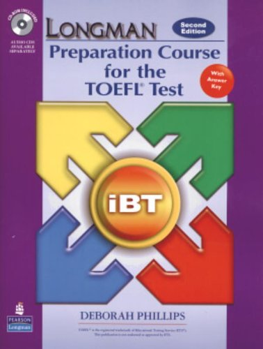 Longman Preparation Course for the TOEFL Test: iBT Student Book with CD-ROM and Answer Key (Audio CDs required) (2nd Edition) (Longman Preparation Course for the Toefl With Answer Key)の詳細を見る