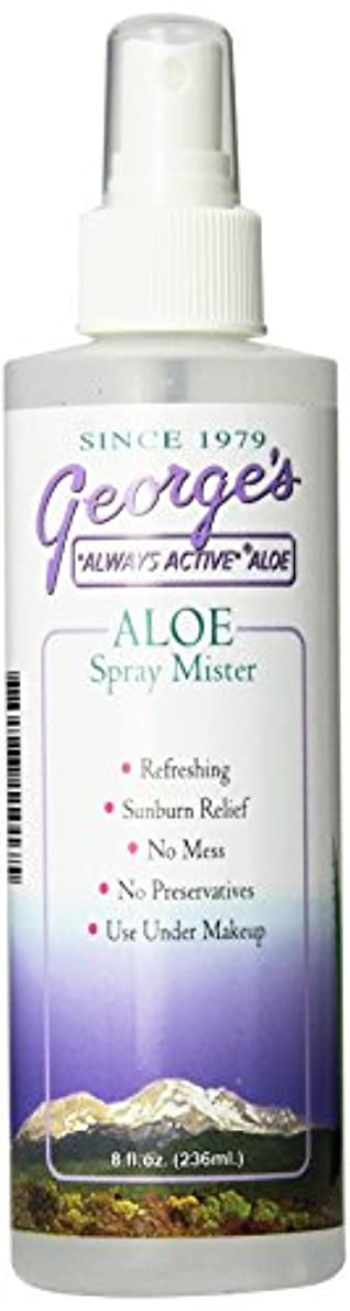 グラス不公平属する海外直送品 George's Aloe Vera Aloe Vera Spray Mister, 8 oz