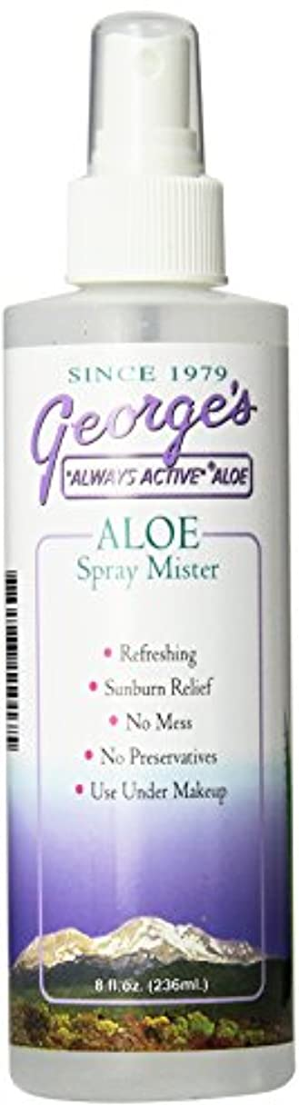 確立起訴する誠実海外直送品 George's Aloe Vera Aloe Vera Spray Mister, 8 oz