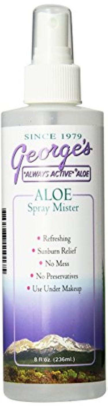 親敬礼木曜日海外直送品 George's Aloe Vera Aloe Vera Spray Mister, 8 oz