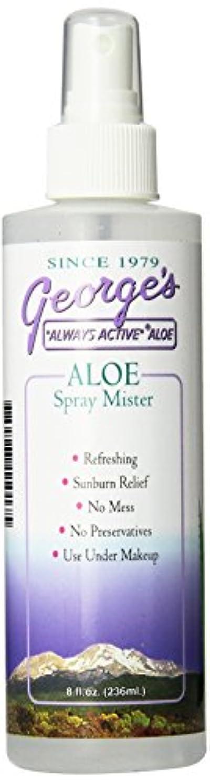 誠実さ重要な役割を果たす、中心的な手段となる有毒海外直送品 George's Aloe Vera Aloe Vera Spray Mister, 8 oz