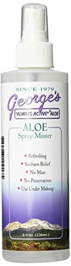 一杯六分儀葉海外直送品 George's Aloe Vera Aloe Vera Spray Mister, 8 oz