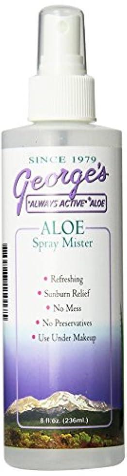 ええほとんどの場合登録海外直送品 George's Aloe Vera Aloe Vera Spray Mister, 8 oz