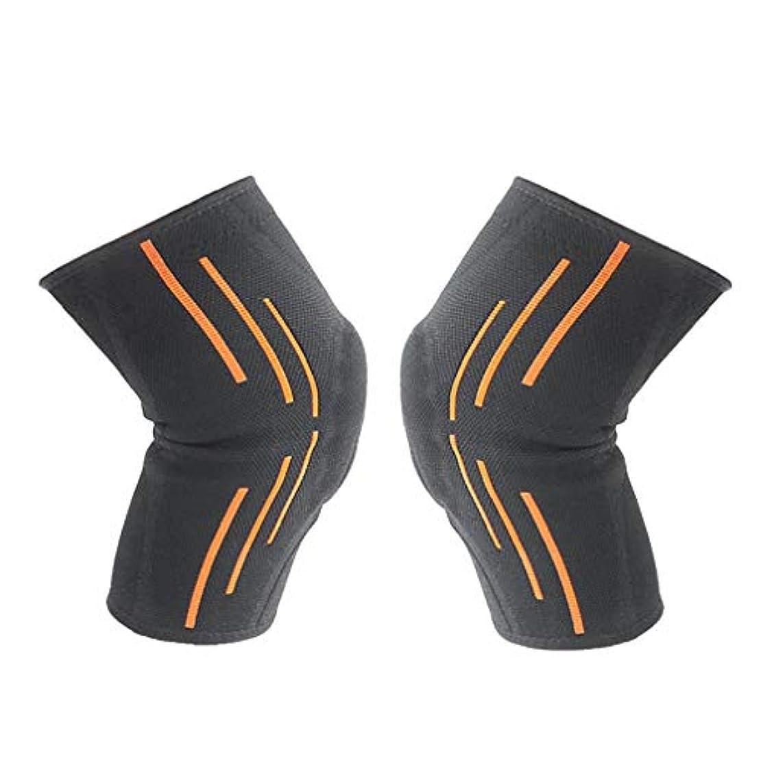 メーター補足セメント柔らかい滑り止めのシリコーンの男性の女性の大人の膝パッドはバスケボールを防ぎます-Rustle666