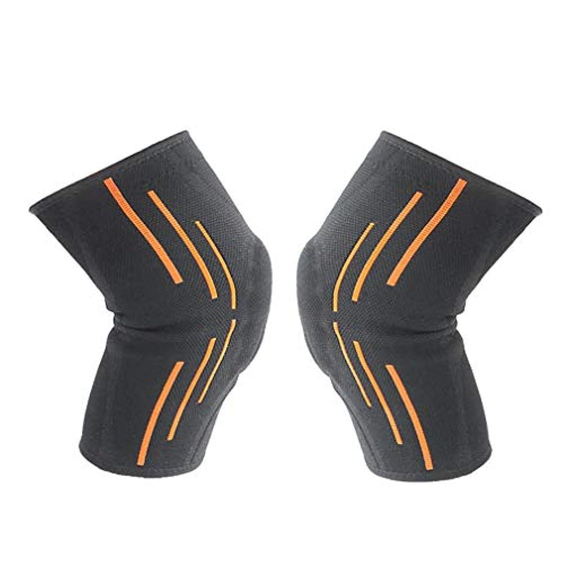区ヒロイン設計柔らかい滑り止めのシリコーンの男性の女性の大人の膝パッドはバスケボールを防ぎます-Rustle666