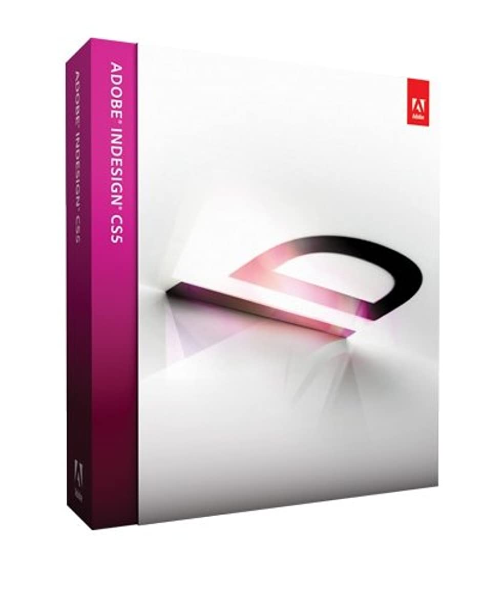 作る思い出不良品Adobe InDesign CS5 Windows版 (旧製品)