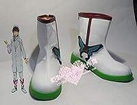 Slolita No. 407ゴーストライト コスプレ靴 cosplay コス 靴 ブーツ 下駄 ハイヒール シューズ (27cm)