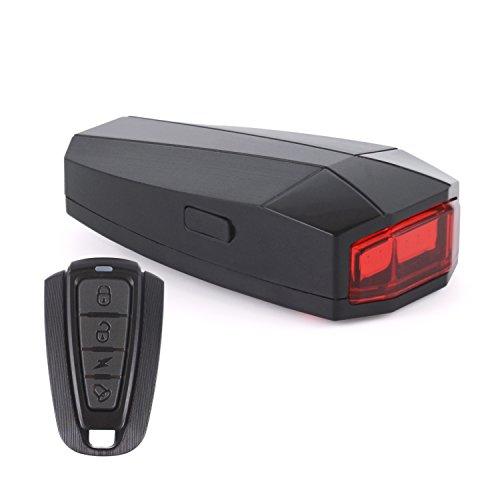 Wolfteeth 盗難防止ブザー機能付き 高輝度ledテールライト usb充電式 4127