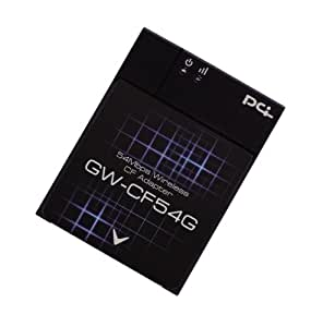 PLANEX 54Mbps 無線LANコンパクトフラッシュアダプタ GW-CF54G