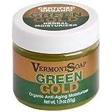 VermontSoap バーモントソープ グリーンゴールド ORGANIC MOISTURIZER GREEN GOLD (ほのかなラベンダー, (L) 55g)