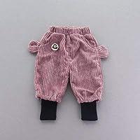 冬服 裏起毛 男女 キッズ洋服 韓国風 赤ちゃん 芯 スリムパンツ 息子 大 パンツ ブ