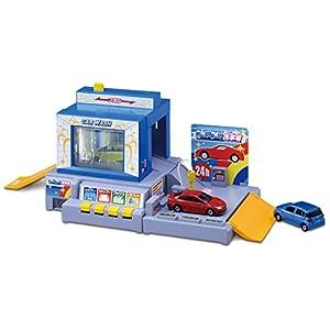 トミカ おしごと体験 水で洗おう! じゃぶじゃぶ洗車場