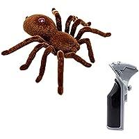 ラジコンスパイダー (S787) 赤外線リモートコントロール 2CHラジコン操作 蜘蛛のリアルな動きを表現!  おもちゃ いたずら ドッキリ クモ くも サプライズ プレゼント クリスマス 誕生日 趣味 娯楽 S787