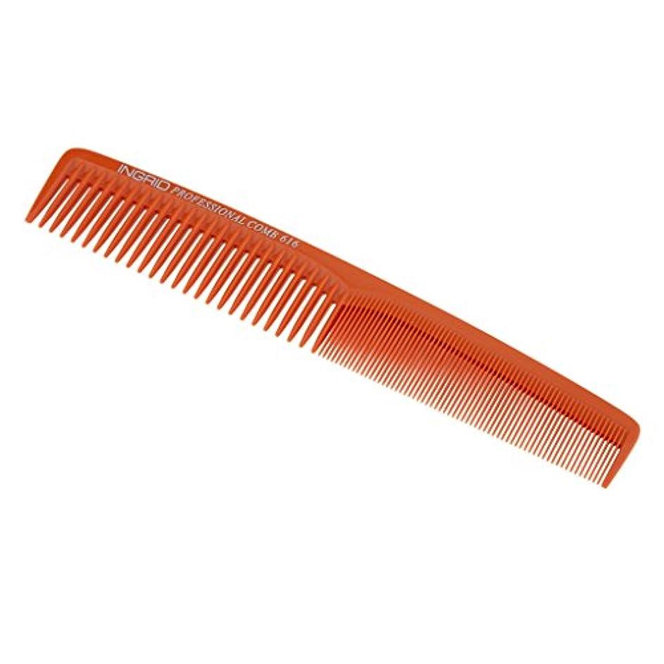 相手慣習キャンディーFenteer ヘアカットコーム 櫛 コーム 理髪店 ヘアケア 便利 全5色  - ベージュ