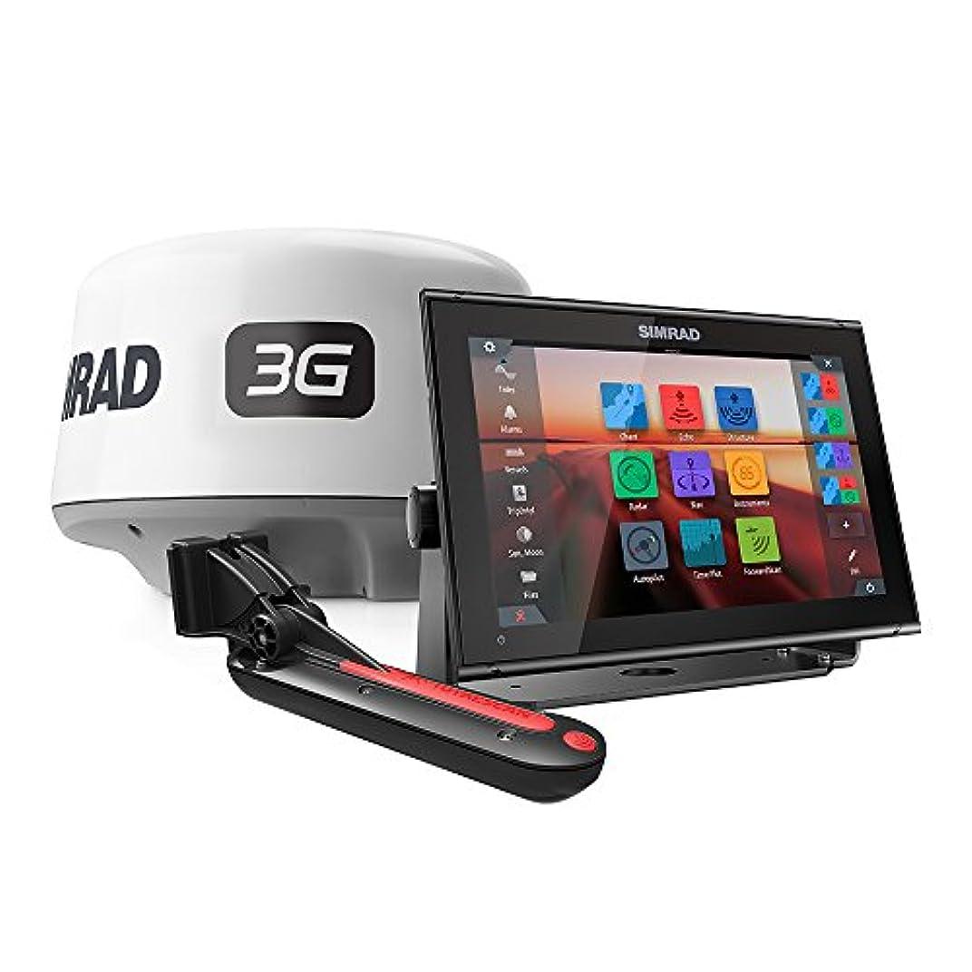 Simrad go12 XSEコンボパッケージW / 3gレーダー& totalscanトランスデューサ