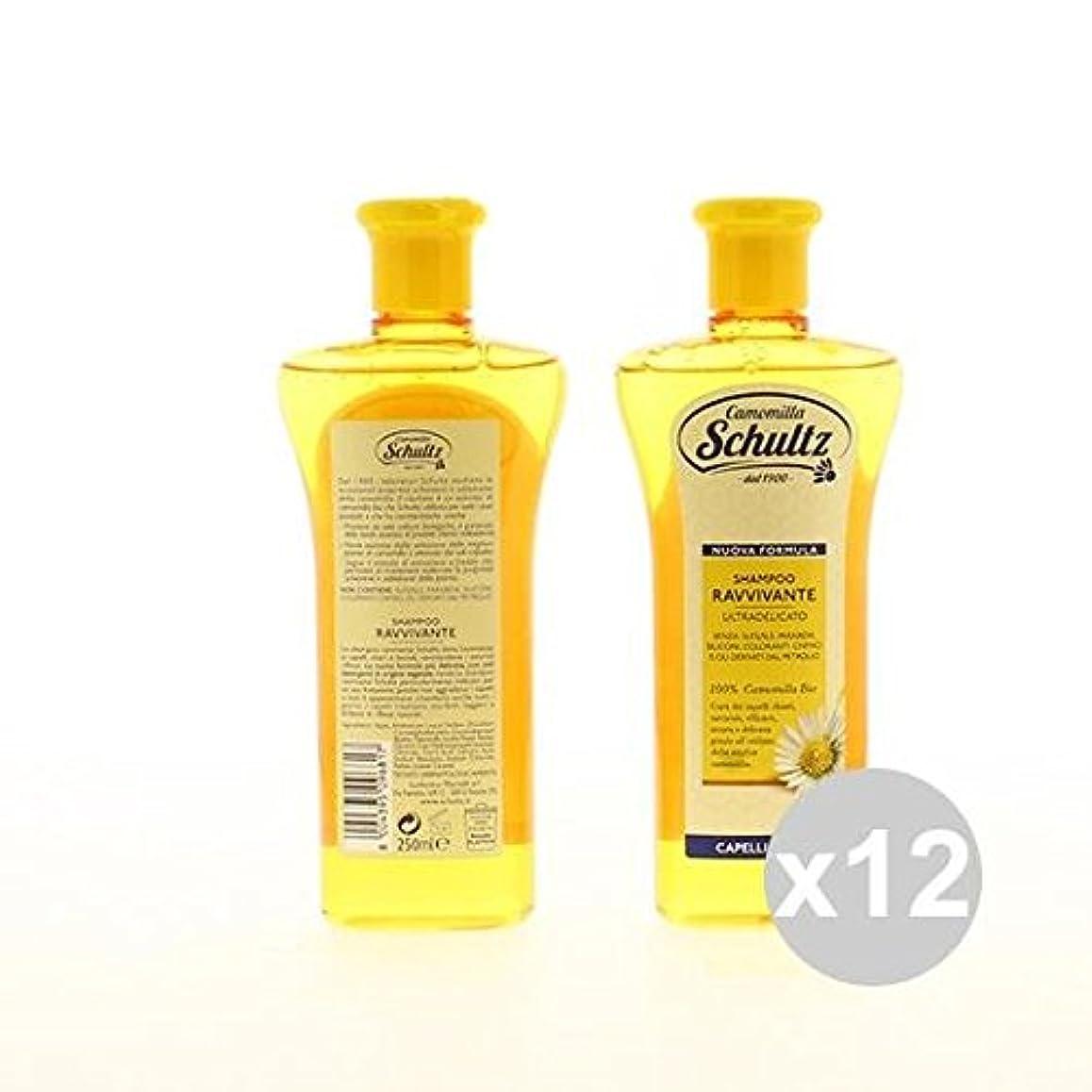 廃棄する乳製品ドラッグ12 SCHULTZシャンプー250 Ravvivanteシャンプーとコンディショナーヘア製品のセット