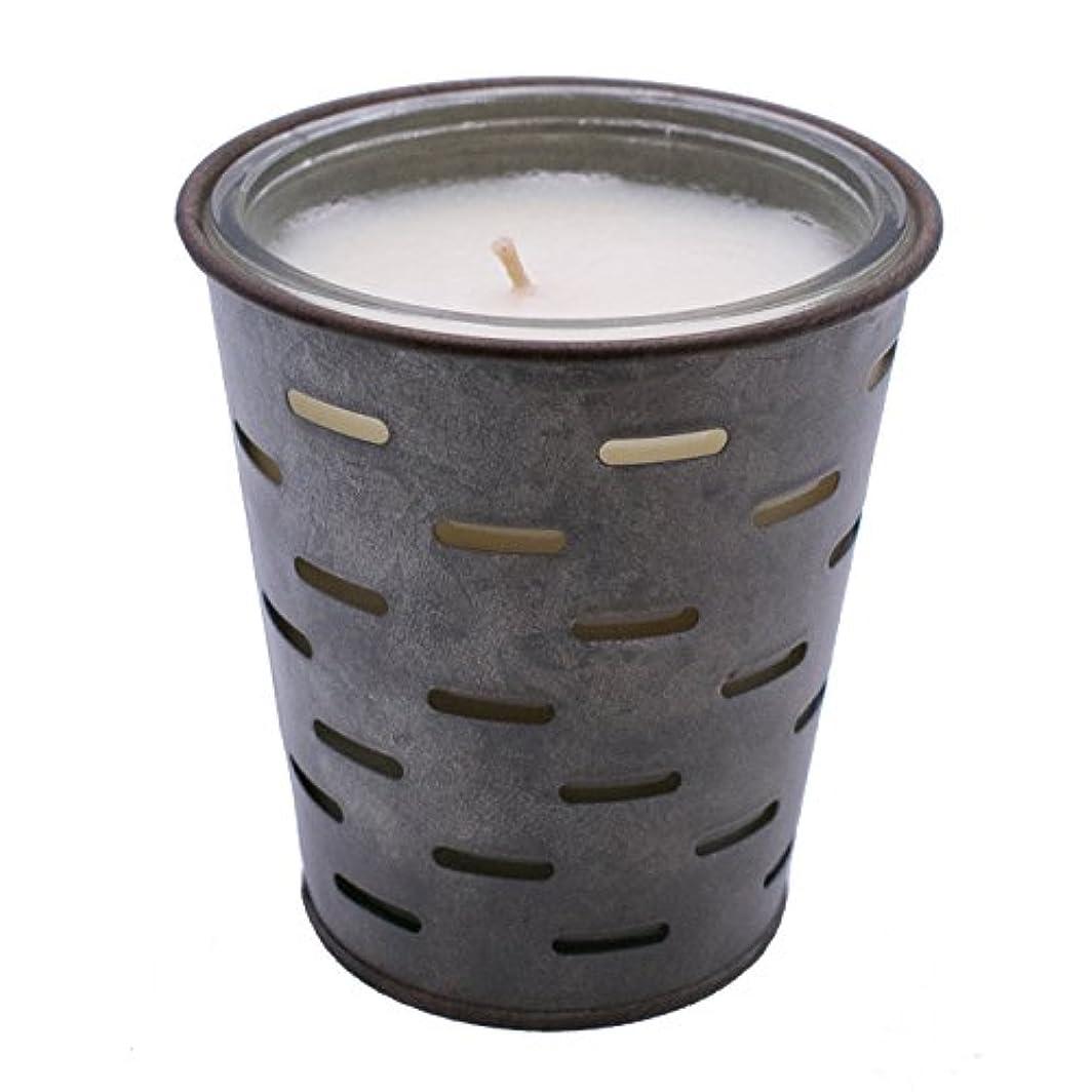 させるひばり月曜日Sweetオリーブ、オリーブバケットFragrance Candle優れ、香り、ガラスJar in Tin Pot亜鉛メッキ、13oz