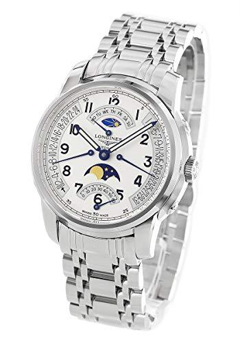 ロンジン サンティミエ レトログラード ムーンフェイズ 腕時計 メンズ LONGINES L2.764.4.73.6[並行輸入品]