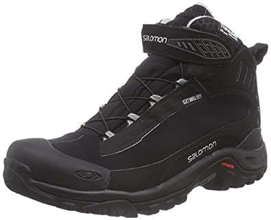 [サロモン] ウィンターシューズ DEEMAX 3 TS WP 防水防寒靴 Winter Black/Black/Aluminium 25 cm