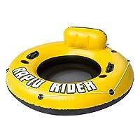 速い 膨らませて 水泳リング ビーチ ゲーム デコレーション スイミングプール アウトドア ビーチ 水泳リング フローティングリング ふさわしい にとって アダルト あり 子 つかいます,Yellow