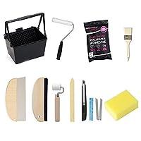 輸入壁紙の施工道具11点「フレスコ粉のり」セット