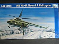 TRUMPETER 1/35 Mil Mi-4A Hound A Helicopter