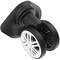 D DOLITY A19 Swivel Dual Roller Wheels Suitcase Luggage Replacement Casters for Travel Bag - Wear-resistant and Durabl (1 Pair)
