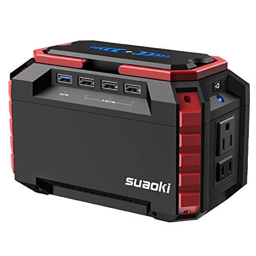 suaoki ポータブル電源 S270 40540mAh/150Wh 家庭用蓄電池 三つの充電方法 AC(150W) DC(180W) USB出力 急速充電QC3.0 車中泊 キャンプ アウトドア 防災グッズ 地震 停電時に 12ヶ月保証