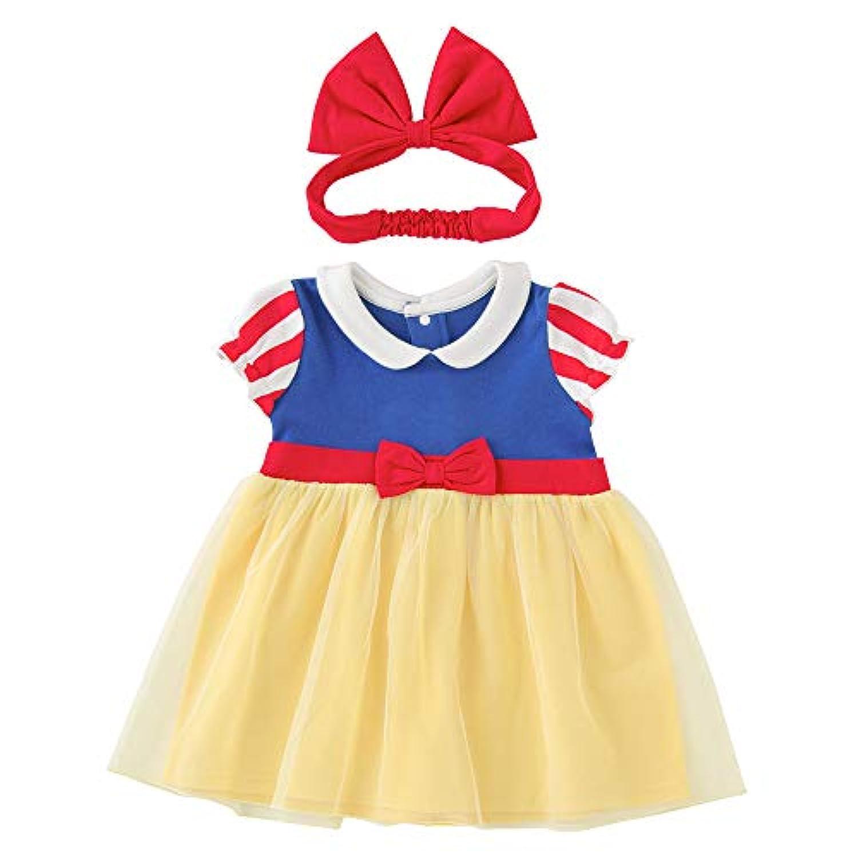 (チャックルベビー) chuckle BABY 白雪姫 半袖 ワンピースセット 90cm 白雪姫 P2290-90-21