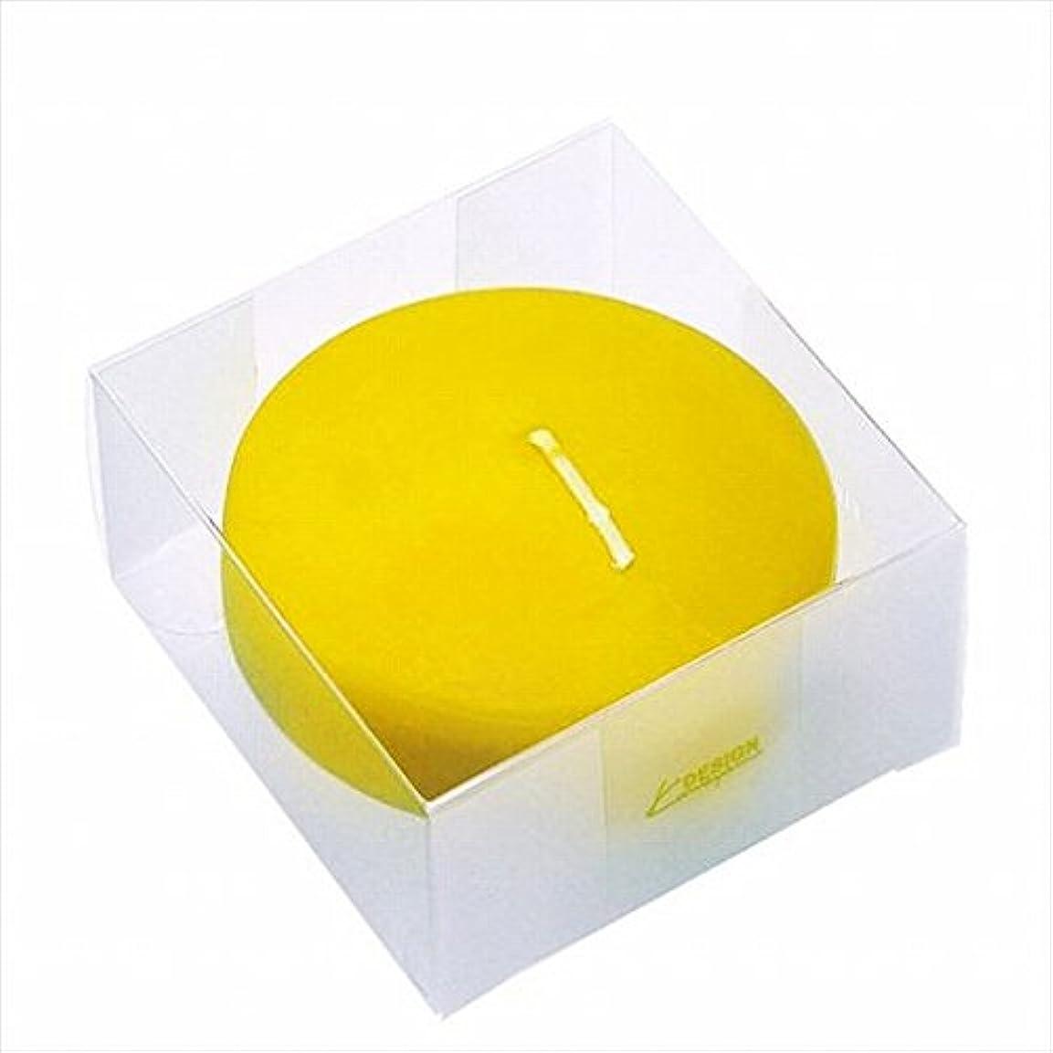 親指バイオレット持つカメヤマキャンドル(kameyama candle) プール80(箱入り) 「 サン 」