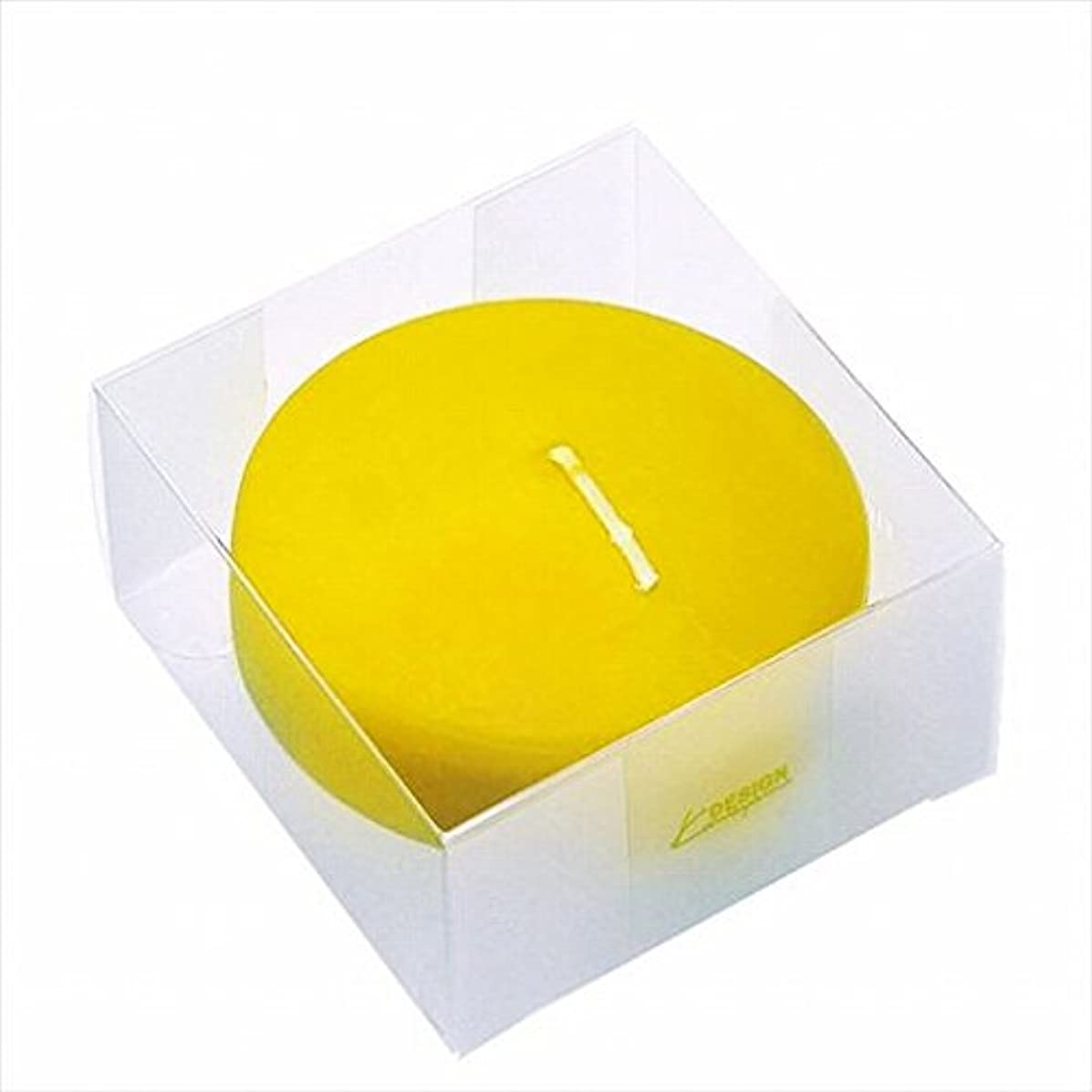 平方反映する牧師カメヤマキャンドル(kameyama candle) プール80(箱入り) 「 サン 」