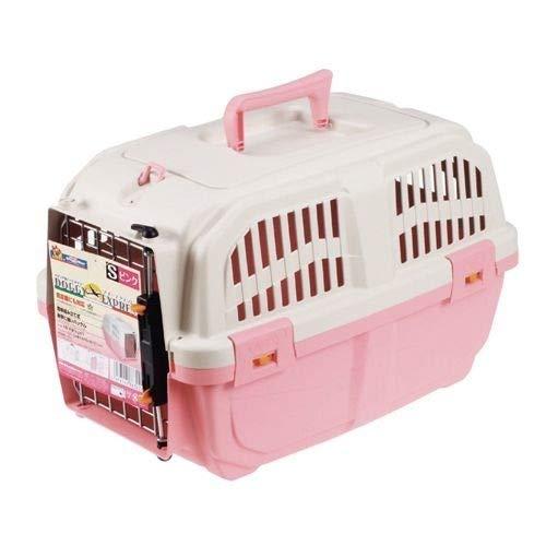 ドギーマン イタリア製ハードキャリー ドギー・エクスプレス Sサイズ ピンク(1コ入) ペット用品 犬用品(グッズ) 犬用おでかけ用品(旅行・お散歩) k1-4976555863222-ak