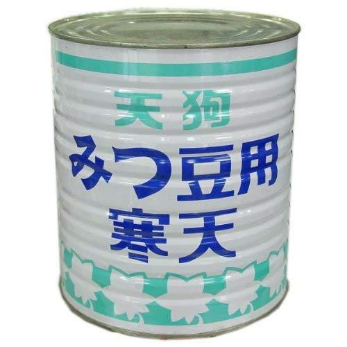 【業務用】天狗 みつ豆用 寒天 1号缶(3000g)【常温】