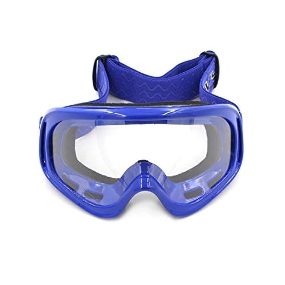 効能有限実り多いKoloeplf オートバイゴーグルオフロード機器屋外乗馬防風スキーアイプロテクション砂防メガネ用女性男性 (Color : Blue)