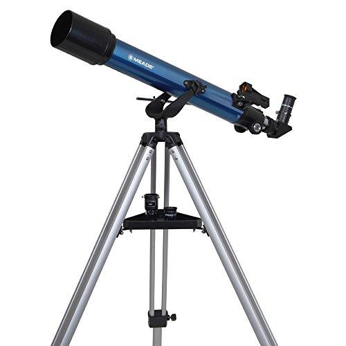 MEADE 天体望遠鏡 AZM-70 屈折式 アクロマート 口径70mm 焦点距離700mm ブルー 997057