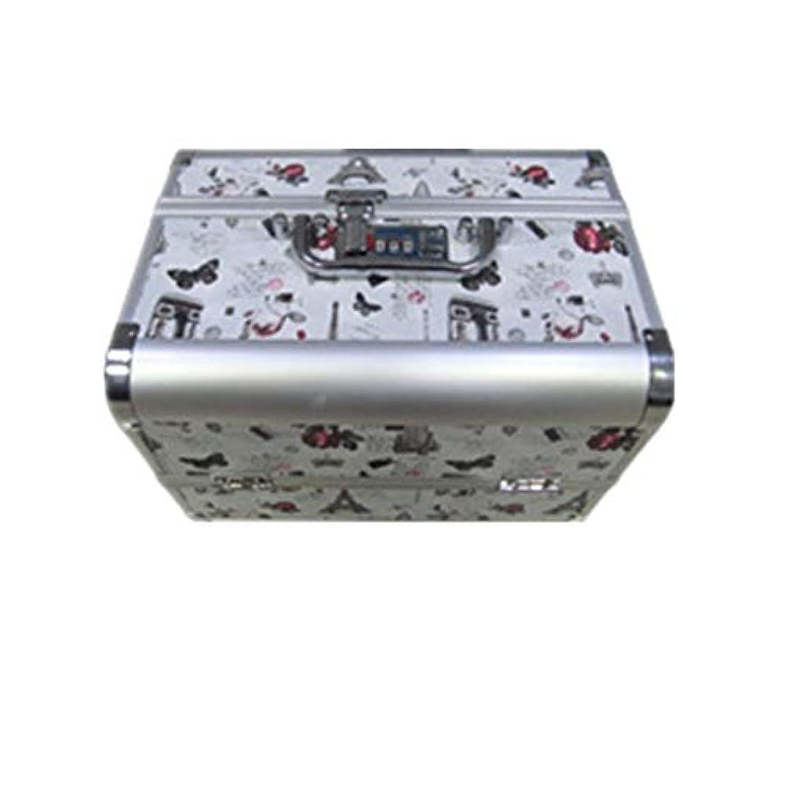 典型的な墓地保守可能化粧オーガナイザーバッグ 大容量ポータブル化粧ケース(トラベルアクセサリー用)シャンプーボディウォッシュパーソナルアイテム収納トレイ(エクステンショントレイ付) 化粧品ケース