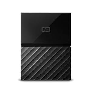 WD HDD Mac用ポータブル ハードディスク 2TB USB TYPE-C タイムマシン対応 パスワード保護 3年保証 My Passport for Mac WDBLPG0020BBK-WESE