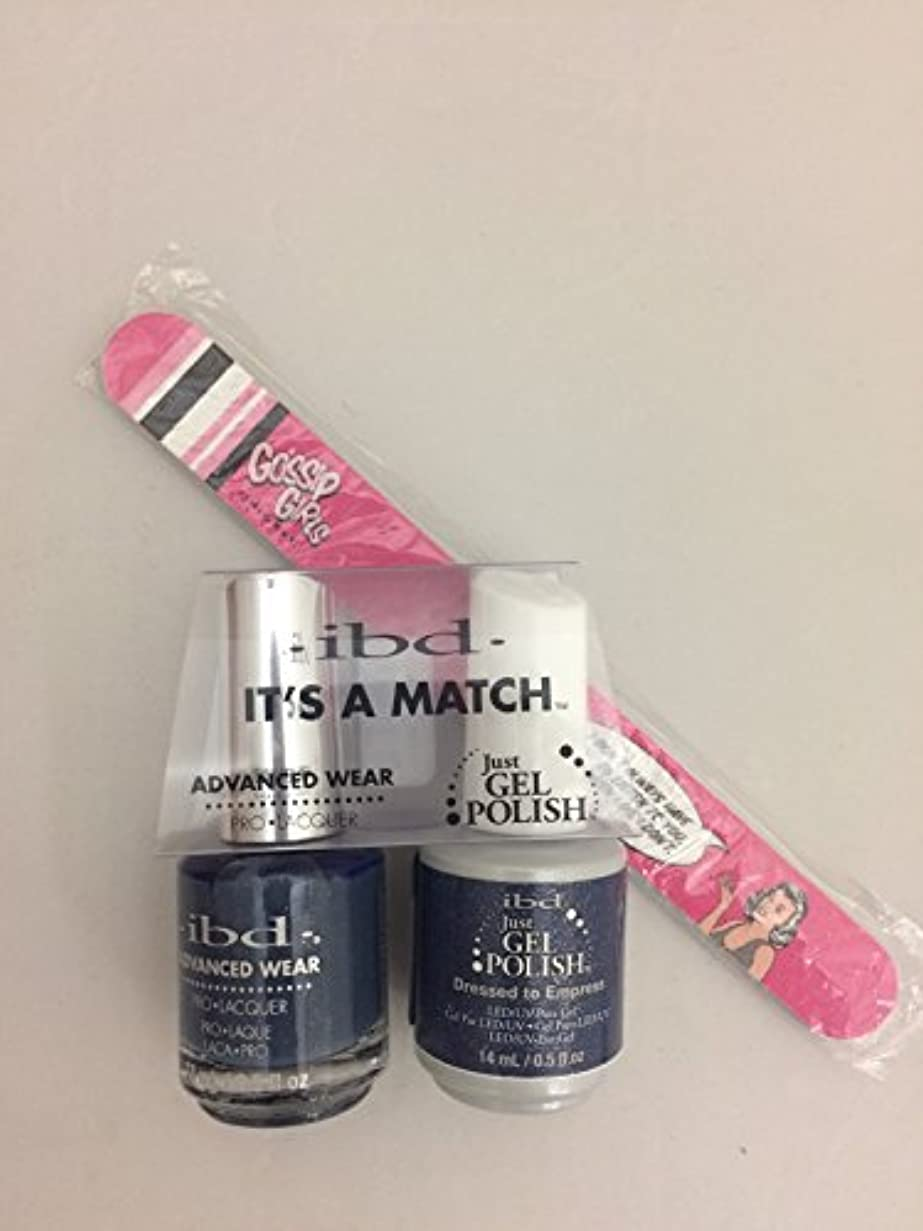 ibd - It's A Match -Duo Pack- Imperial Affairs Collection - Dressed to Empress - 14 mL / 0.5 oz Each