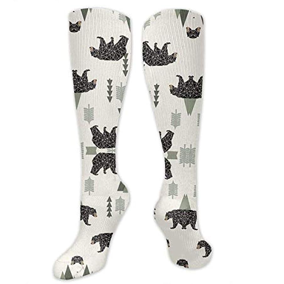 それぞれホイッスル答え靴下,ストッキング,野生のジョーカー,実際,秋の本質,冬必須,サマーウェア&RBXAA Forest Bear Cream Green Neutral Baby Socks Women's Winter Cotton Long...