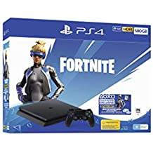 PS4 500GB Fortnite Neo Versa Console Bundle + 2000 V-Bucks (PlayStation 4)