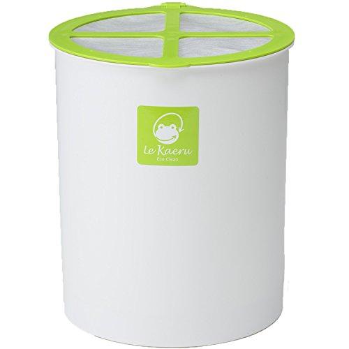 エコクリーン 家庭用 生ごみ処理器 ル・カエル 基本セット グリーン