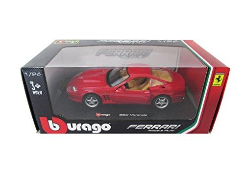 ブラーゴ フェラーリ レーズ & プレイ 1:24シリーズ 550 マラネロ 200-472